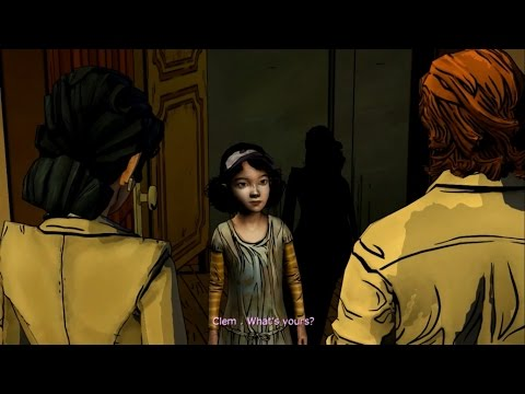 Funny moments: Clementine meets the big bad wolf