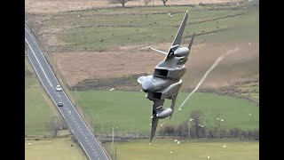 Grim Reaper's  F-15Cs 493rd FS  Low level Flying!!  Mach-Loop