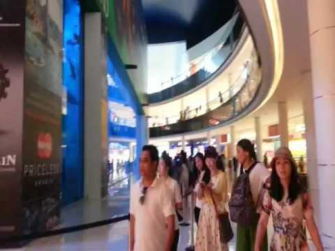 Llamada a la oración en el Dubai Mall