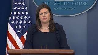 White House press briefing on deal to end government shutdown | ABC News