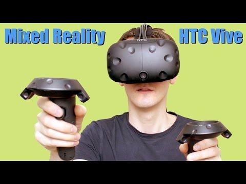 Virtual Reality #3 Mixed Reality & HTC Vive | XRobots