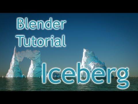 Blender Tutorial - Iceberg