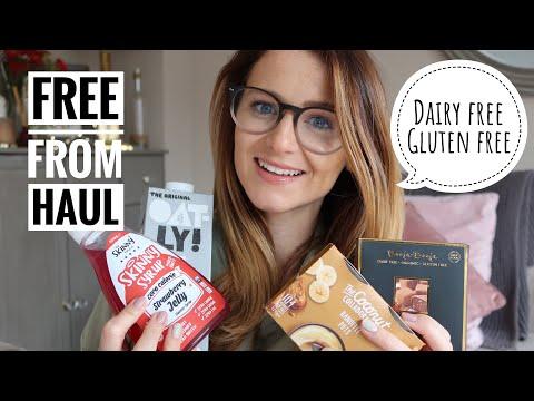 DAIRY FREE GLUTEN FREE FOOD HAUL | FAVOURITE GLUTEN FREE DAIRY FREE FOODS