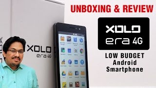 Xolo Era 4G unboxing and review India