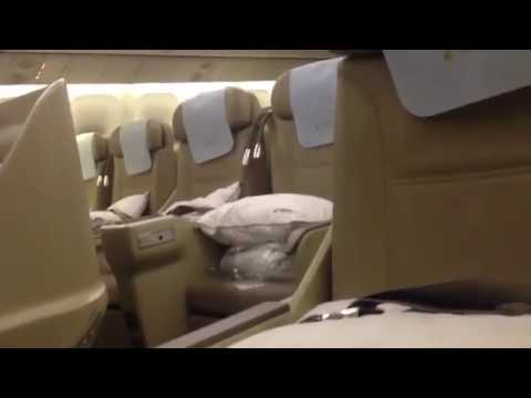 China Eastern Airlines business class - From Moscow to Shanghai