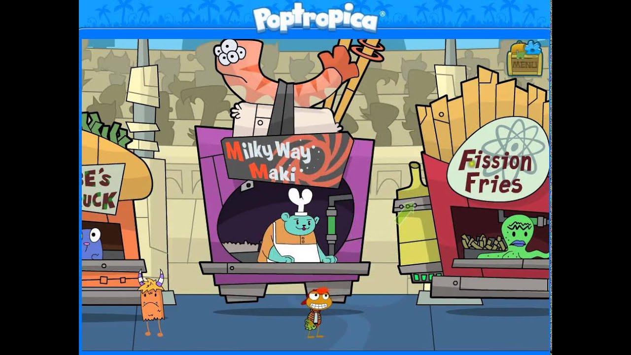 Download Poptropica Galactic Hot Dogs Island Cheats Walkthrough