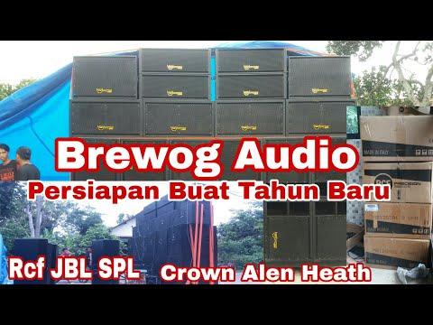 Brewog Audio arep cek sound lur