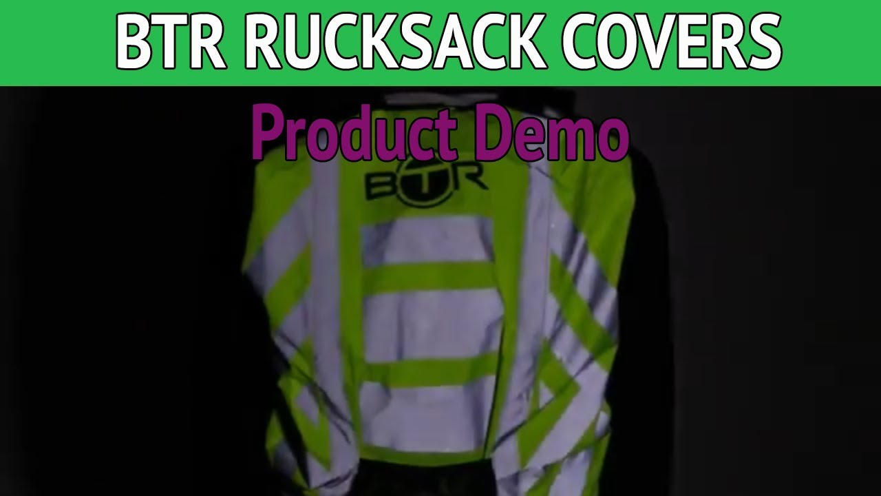 fe223be3ec07 BTR Waterproof High Visibility Backpack Cover