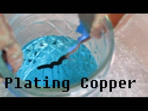 Electrolysis of copper sulfate youtube - Bagno galvanico ...
