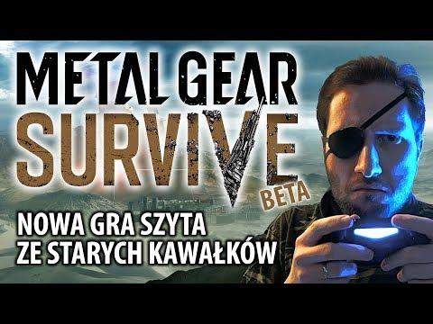 Metal Gear Survive (beta) - nowa gra szyta ze starych kawałków