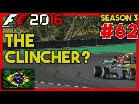 CAN WE CLINCH THE CHAMPIONSHIP? Full Race Friday |20/21| F1 2016 Career Mode S3 Ep. 62