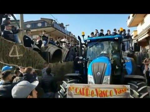 Festa di Sant'Antuono 2016 a Macerata Campania - Paese della Pastellessa