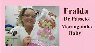 FRALDA DE PASSEIO MORANGUINHO
