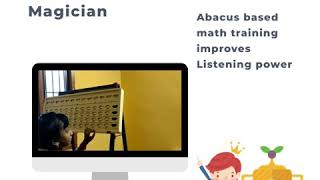 Abacus based math training