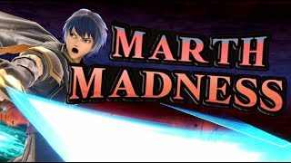 Marth MADNESS - Smash Bros Ultimate Marth Highlights by Mr E