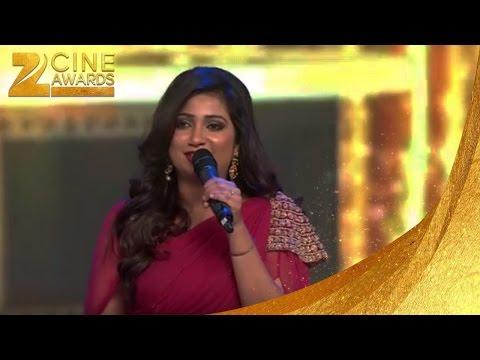 Zee Cine Awards 2016 Best Play Back Singer Female Shreya Ghoshal