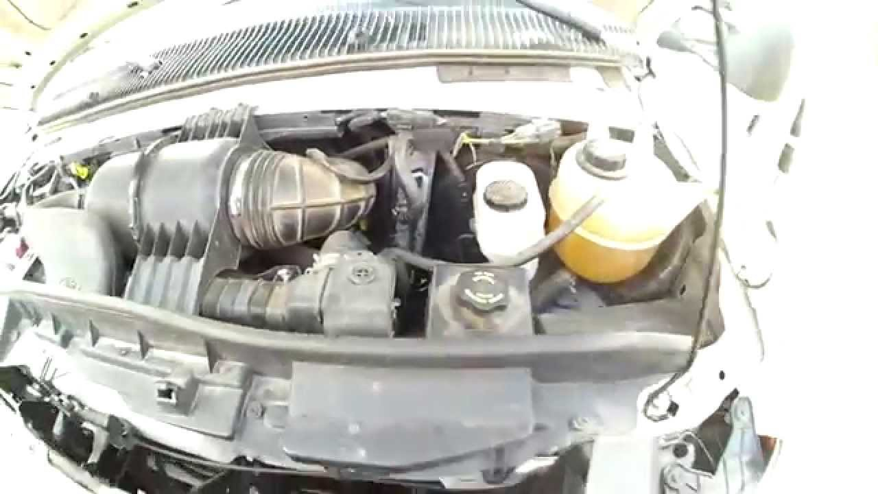 locating the engine oil dipstick on ford van 4 6l engine [ 1280 x 720 Pixel ]