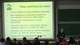 linux disaster recovery with rear