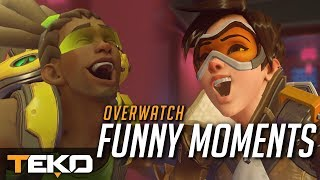 Moje Funny, Lucky i Fail Moments! [Overwatch]