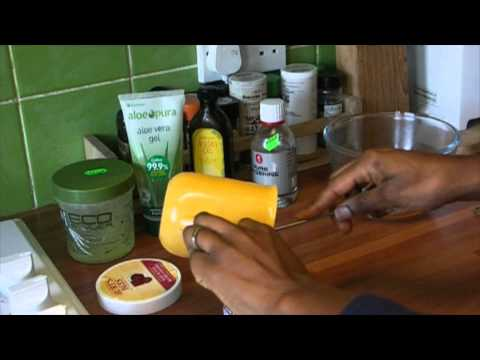 Curly pudding recipe for natural 4c hair