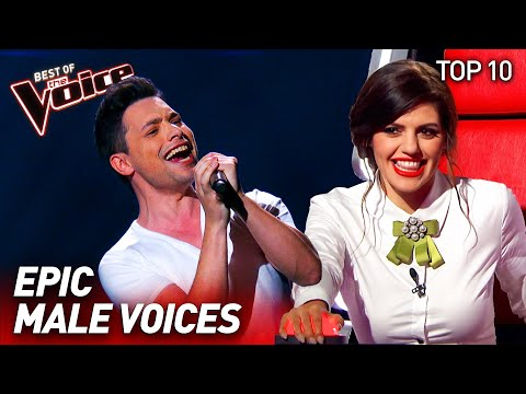 The most EPIC MALE VOICES on The Voice   Top 10