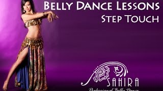 Belly Dance Lessons - Step Touch