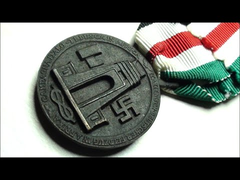 HISTORIC WW2 German-Italian War Medal for the North African Campaign