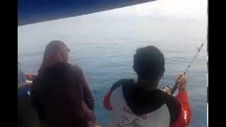 Mancing  Mania di laut Bangka