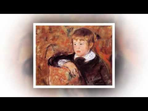Mary Cassatt  Impressionist Painter USA