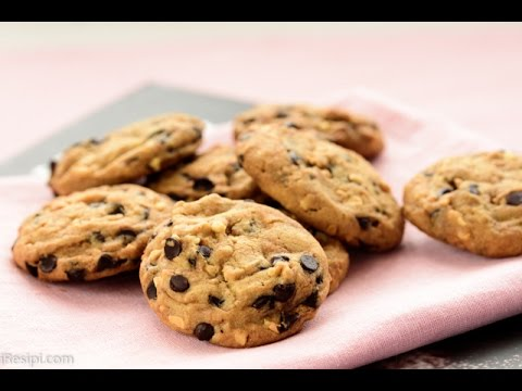 Resepi Double Chocolate Chip Cookies