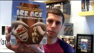 Ice Age Complete Collection Blu Ray Unboxing