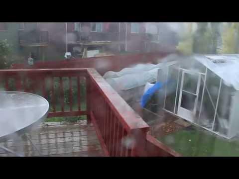 Hailstorm Airdrie AB July 30, 2016 part 2