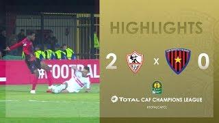 Zamalek SC 2-0 Primeiro de Agosto | HIGHLIGHTS | Match Day 2 | TotalCAFCL