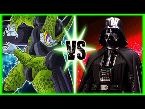 Perfect Cell Vs Darth Vader...