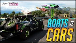 THE MOST EPIC RACE IN A VIDEO GAME EVER!!! (Forza Horizon 3 Funny Moments - Better than GTA 5 Races)