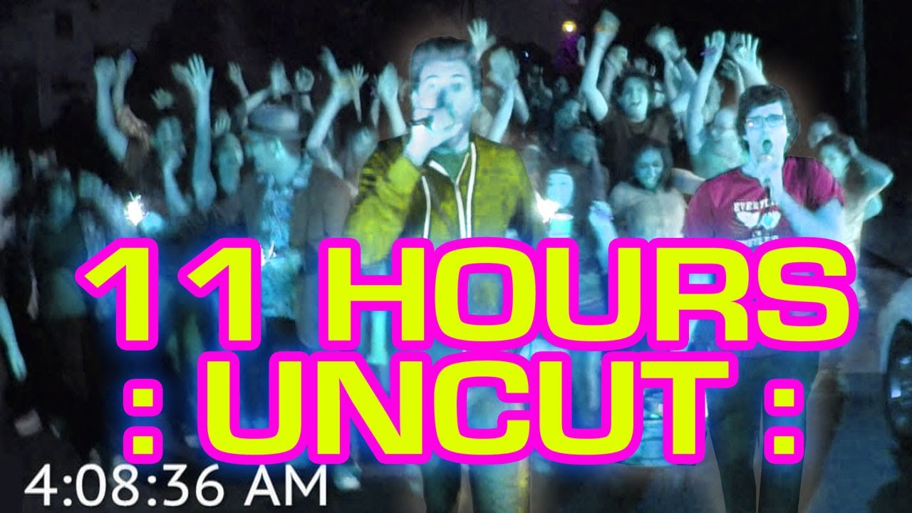 "FULL 11 HOURS: ""All Night Long"" literally All. Night. Long. - Watch the 4-minute version here:"