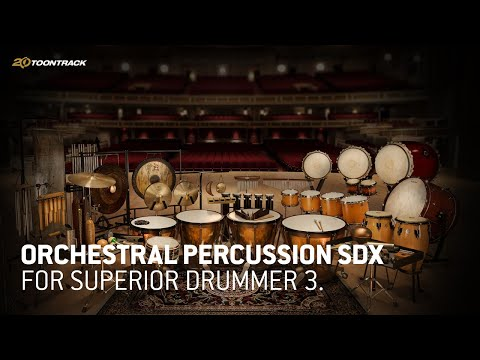 Orchestral Percussion SDX for Superior Drummer 3