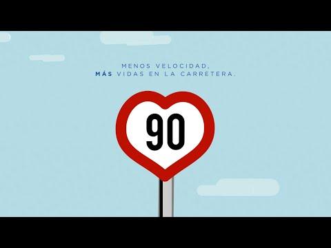 'Mejor más despacio': la DGT informa de la bajada de la velocidad a 90 km/h