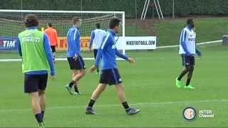 ALLENAMENTO INTER REAL AUDIO 03 10 2015