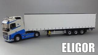 Schmitz Cargobull - тентованный полуприцеп | Eligor | Обзор масштабной модели 1:43