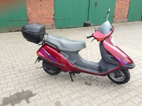 roller trip honda spacy 125ccm deutschland portugal in 3. Black Bedroom Furniture Sets. Home Design Ideas