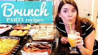 EASY BREAKFAST BAKES // BRUNCH PARTY // STAY AT HOME MOM