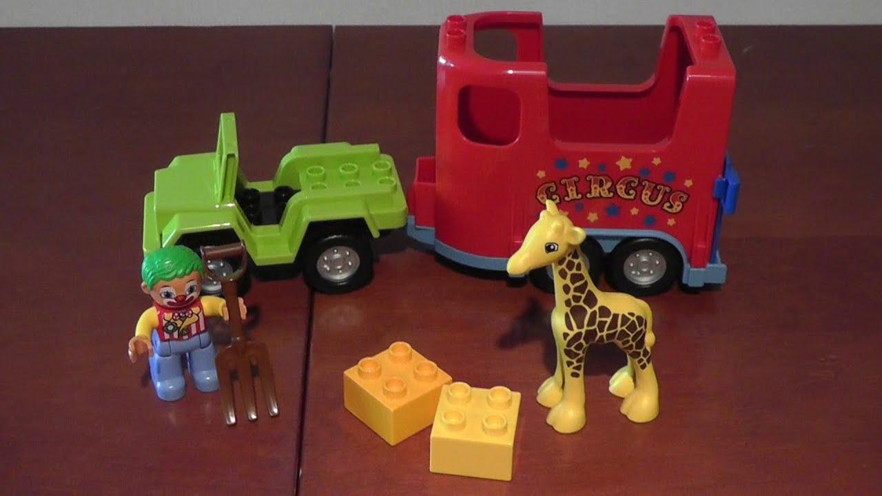 Unboxing Lego Duplo 10550 Pojazd Cyrkowy Rozpakowanie Youtube