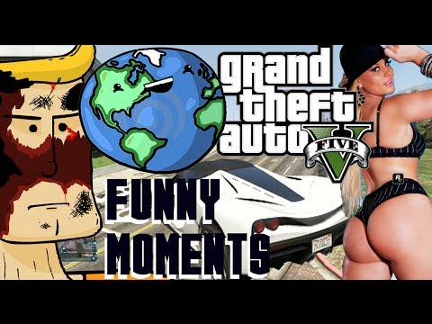 GTA V Online Funny Moments 5 ! Planet Chucky