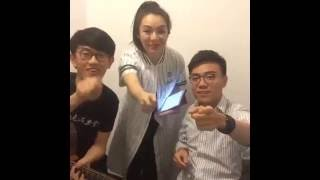 JW 王灝兒 X Terence Lam 林家謙 X LokaGuitar - Beauty And The Beast / 矛盾一生 / 情人 / 淘汰 (Facebook Live)