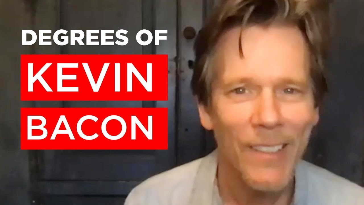 """Kevin Bacon Plays """"Six Degrees Of Kevin Bacon"""""""