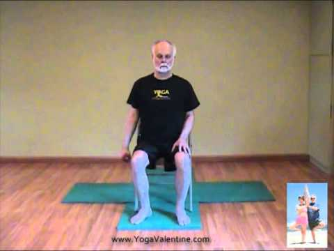 Chair Yoga with Edwin Valentine