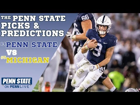Penn State vs Michigan Picks and Predictions | Who will win? | Penn State Football 2018