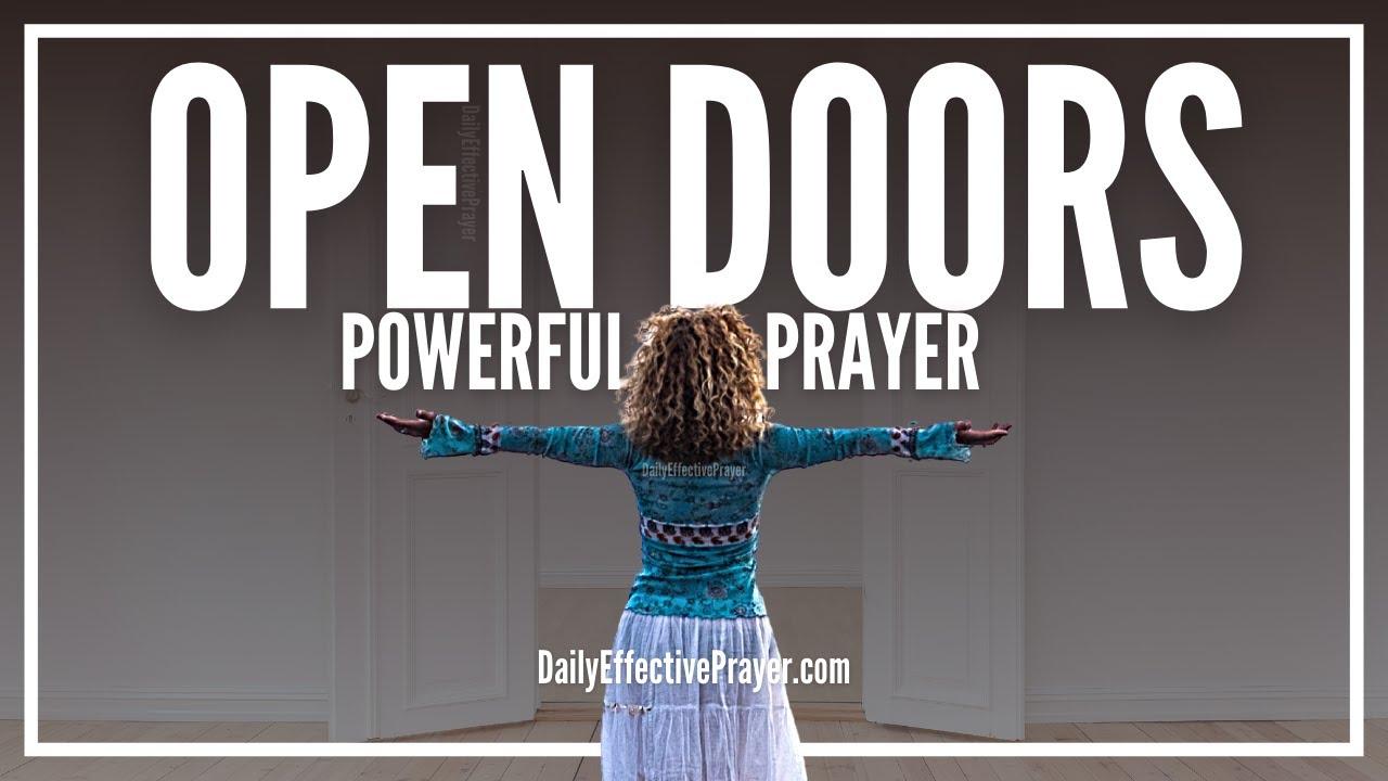Prayer For Open Doors | Prayer For New Beginnings Fresh Start