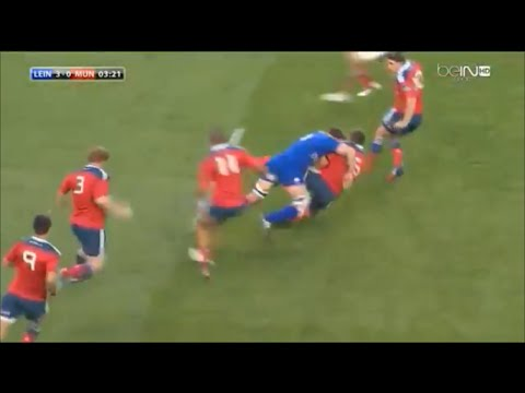 Dominic Ryan massive hit on CJ Stander